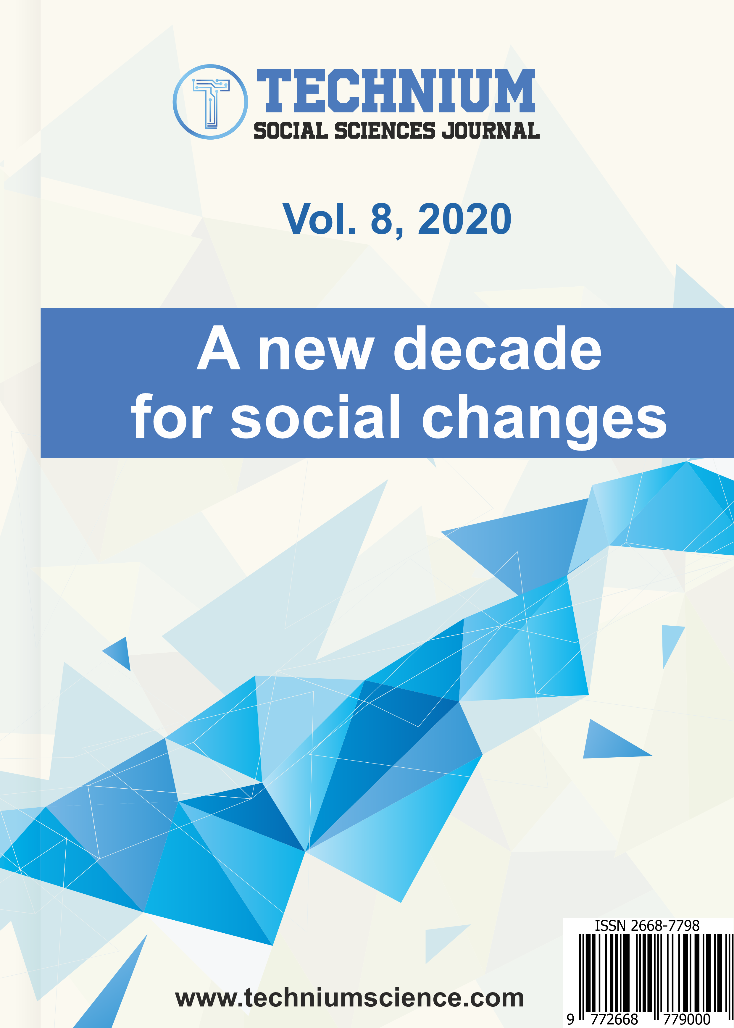 View Vol. 8 (2020): A new decade for social changes
