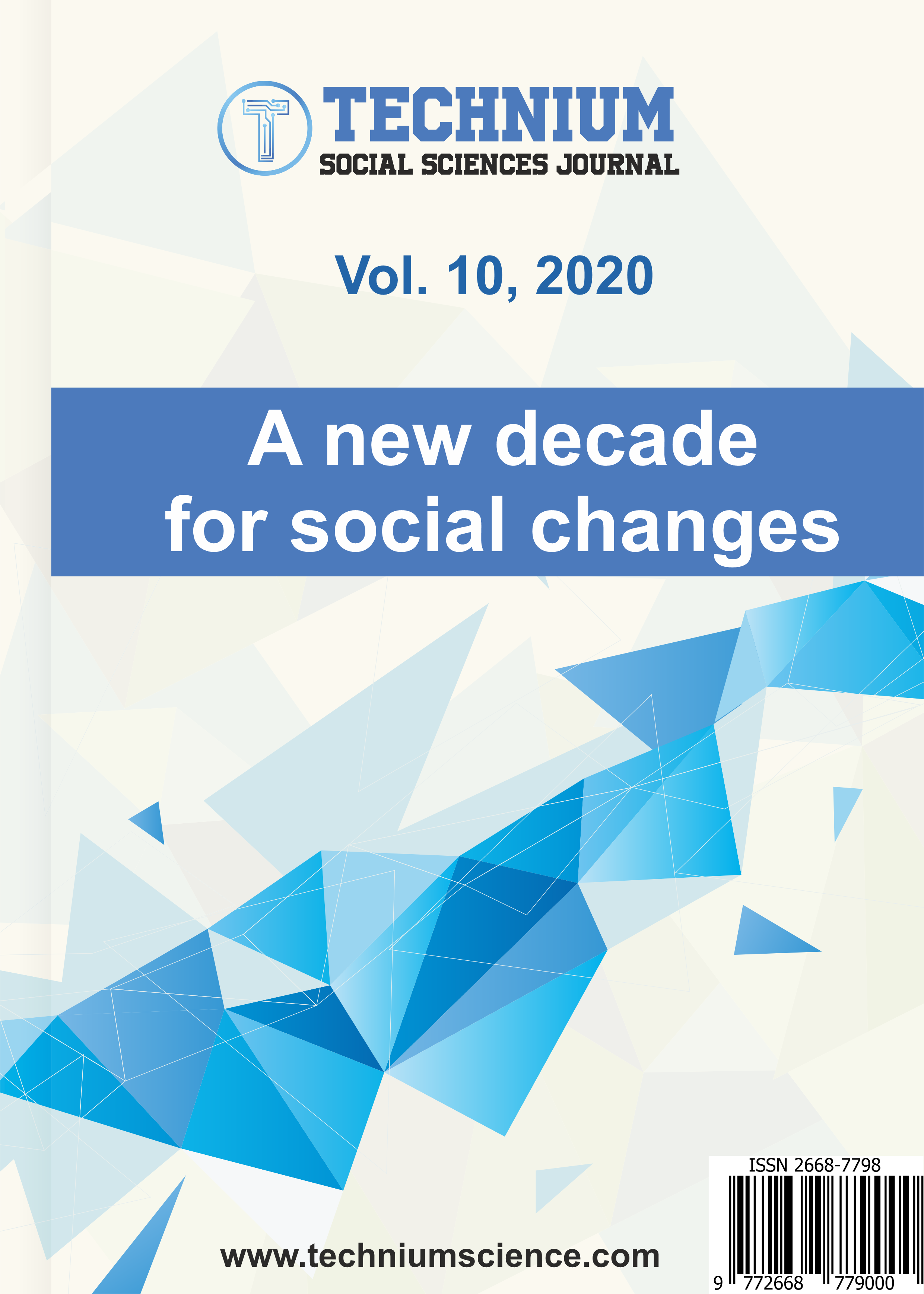 View Vol. 10 (2020): A new decade for social changes