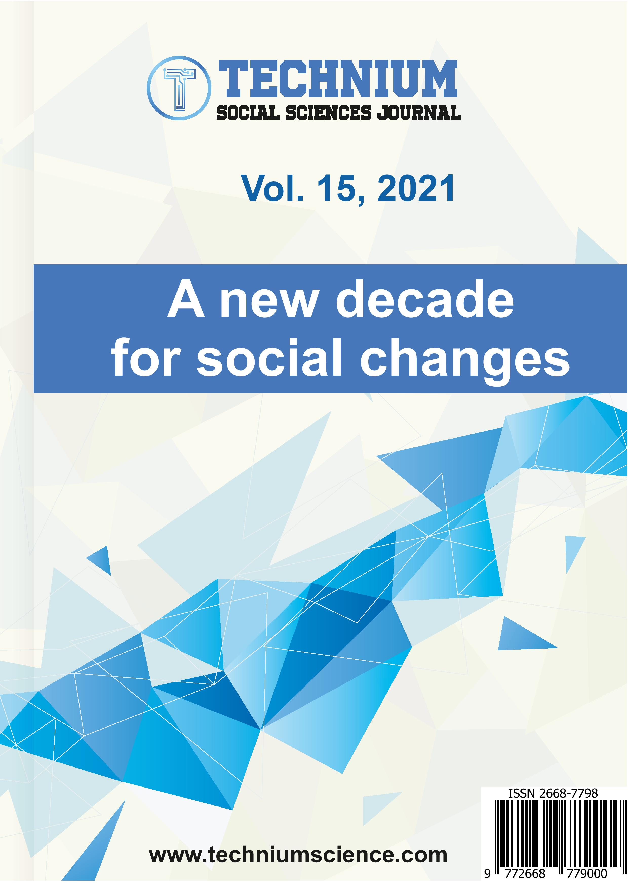 View Vol. 15 (2021): A new decade for social changes